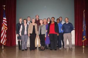 UNISA delegation with HCCC Professor Bill Pelz