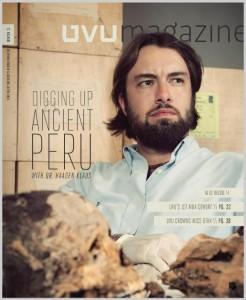 UVU magazine with Haagen Klaus