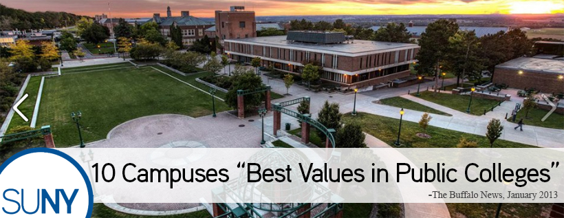SUNY Campuses Value 2013 Buffalo News