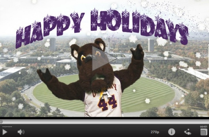 UAlbany Holiday Card