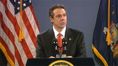 Governor Cuomo at the 2013 State of the State Address