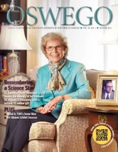 Steve Levy in Oswego Magazine