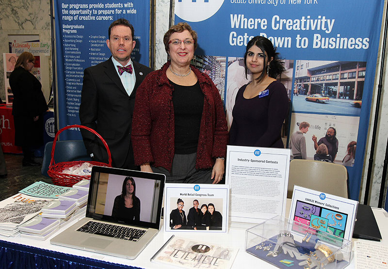 FIT campus table at SUNY Day 2013
