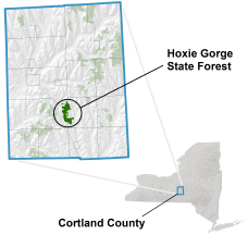 Hoxie Gorge location image