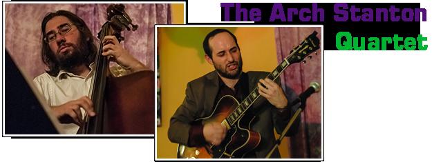Arch Stanton Quartet's Christopher Macchia and Roger Noyes