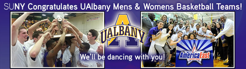 Congratulations UAlbany mens and womens basketball teams!