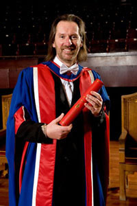 David Eustace - graduation at Edinburgh University