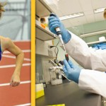 Biology Major Takes the Lead on the Track and in the Lab