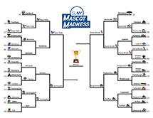 SUNY Mascot Madness - final four bracket