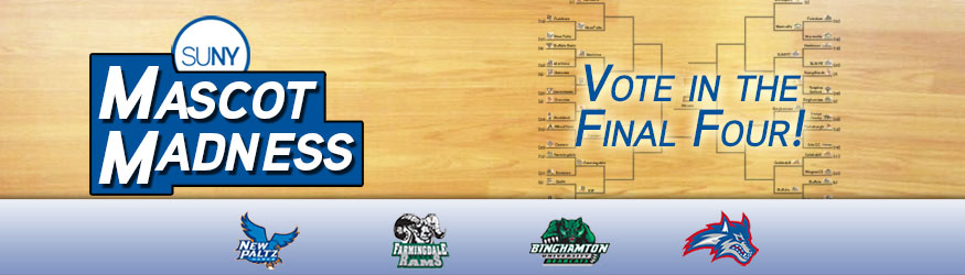 SUNY Mascot Madness - Vote in the Final Four