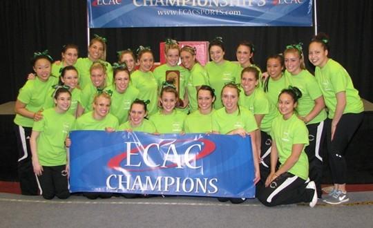 SUNY Brockport women's gymnastics team