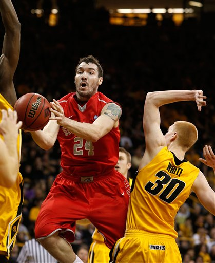 Stony Brook basketball at the NIT tournament