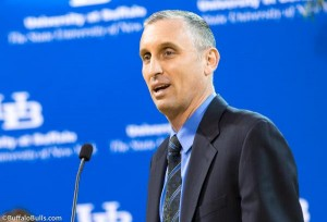 Bobby Hurley has been named the 12th head men's basketball coach at the University at Buffalo.