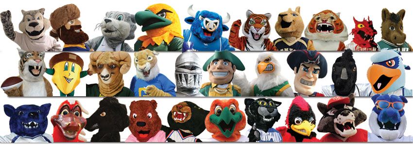 All 30 mascots who participated in SUNY's innagural Mascot Madness