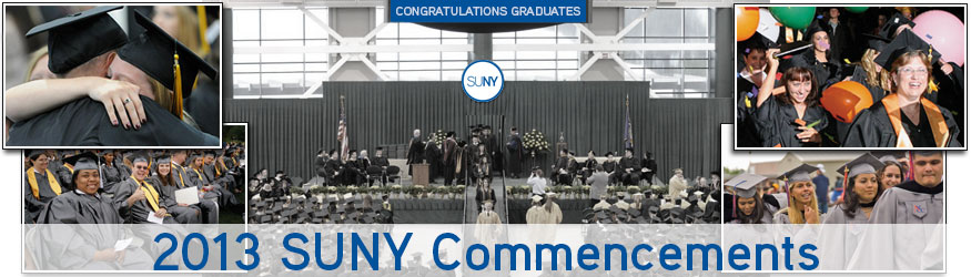 2013 SUNY Commencements