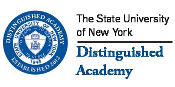 SUNY Distinguished Academy logo