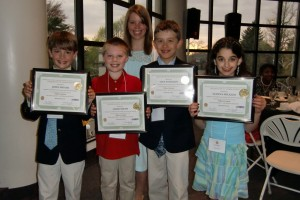 Students at STEM You Can Video Contest Awards Gala