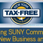 Governor Cuomo Announces Tax-Free NY to Spur Business & Investment (UPDATEx2)