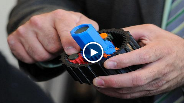 Click to watch 3D printing at SUNY New Paltz