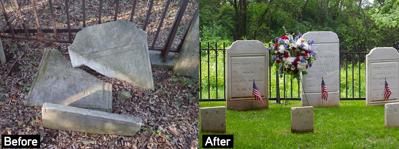 General Ellis Cemetery in Onondaga County