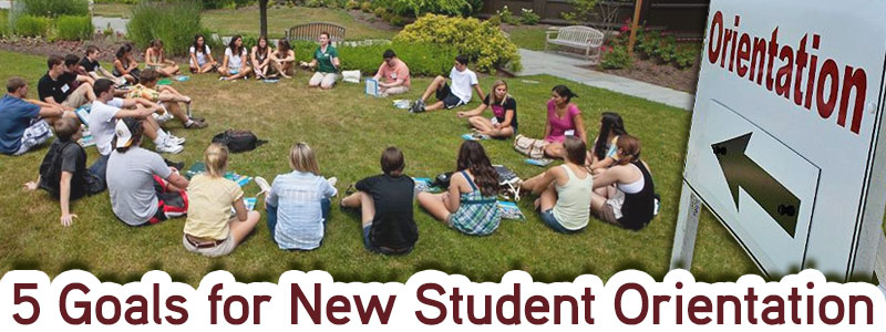 5 Goals for New Student Orientation