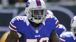 Buffalo Bills Linebacker Arthur Moats in uniform