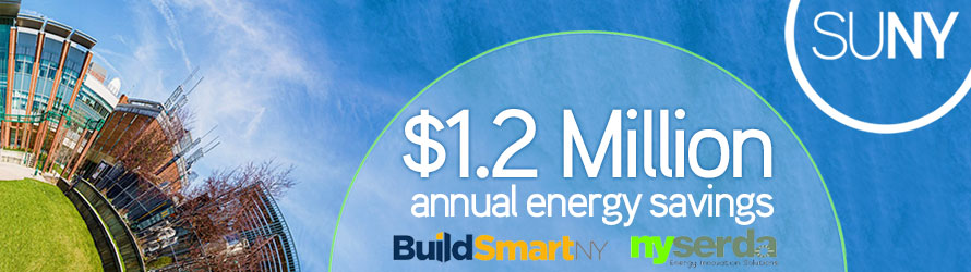 SUNY, NYSERDA Announce $1.2 Million in Energy Savings in Conjunction with 'Build Smart NY'