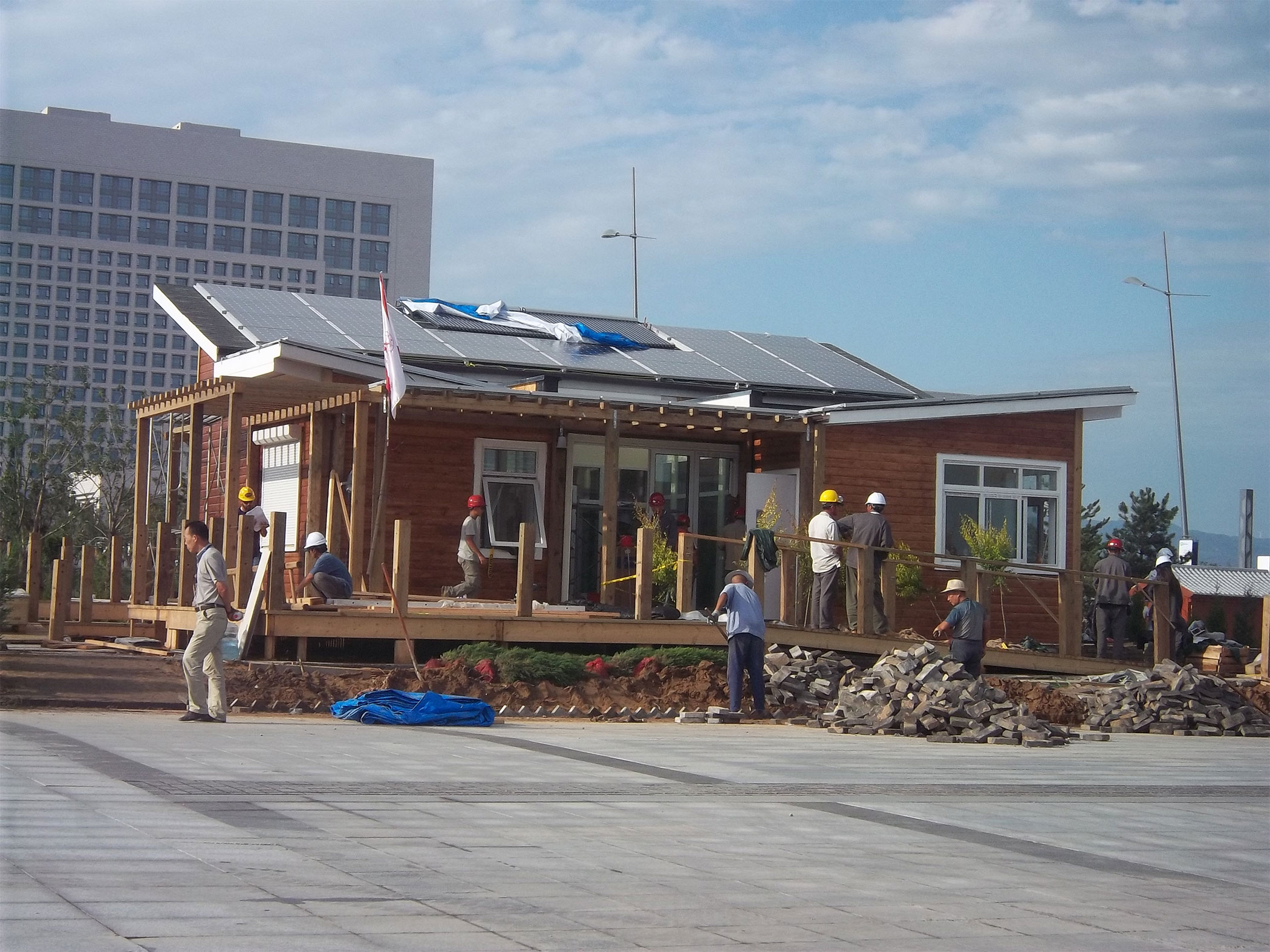 Alfred State Students compete in 2013 Solar Decathlon China.