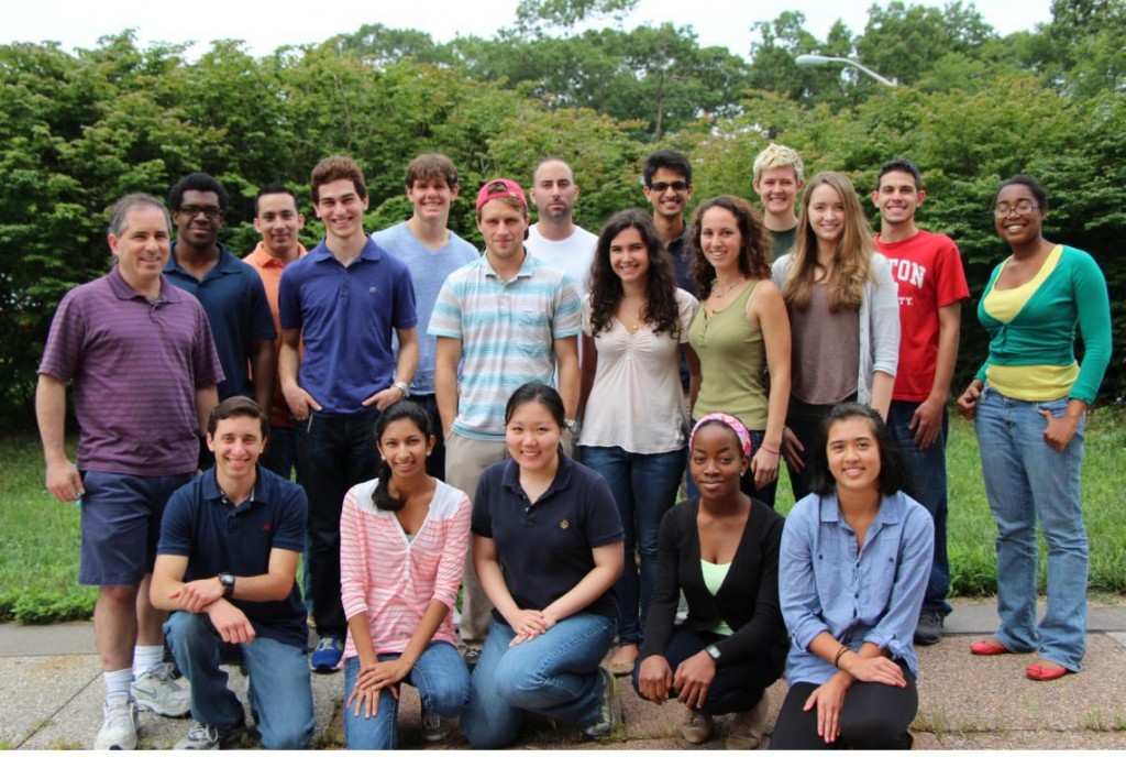 The 2014 Chancellor's Education Pipeline Biomedical Research Awardees and Program Director