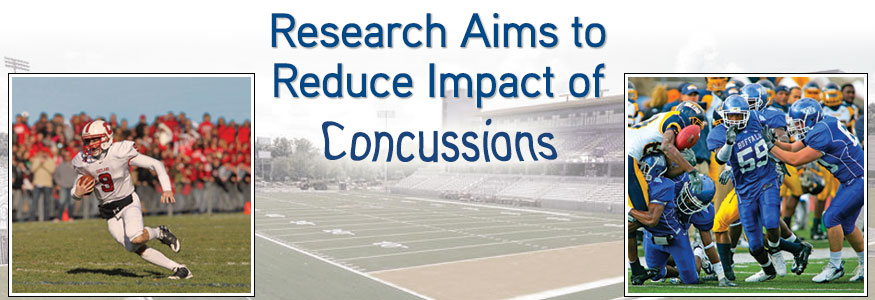 Research aims to reduce impact of concussions