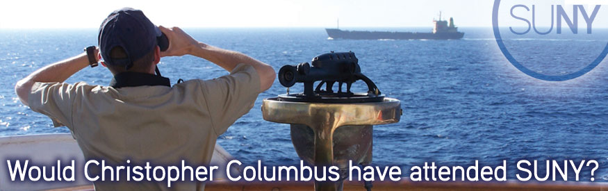 Would Christopher COlumbus have attended SUNY?