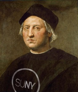Christopher Columbus as a SUNY student