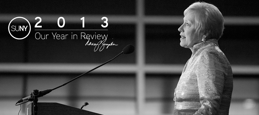 SUNY Year in Review 2013 with Chancellor Nancy Zimpher