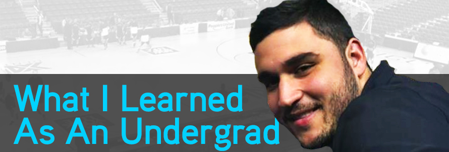 What I learned as an undergraduate college student