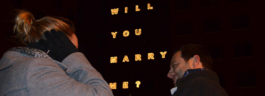 Man proposes to girlfriend at University at BUffalo
