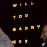 Man Proposes to Girlfriend Using Illuminated Residence Hall (+ VIDEO)