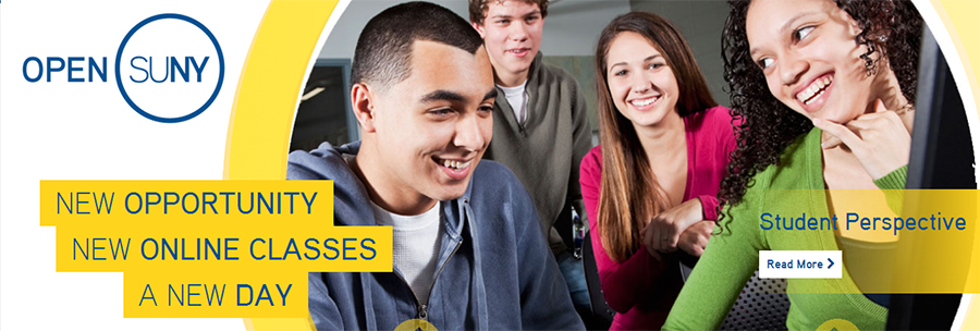 Open SUNY - New Opportunity, New Online Classes, A New Day