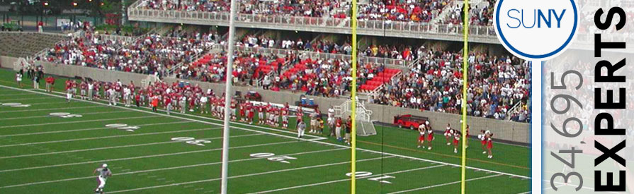 Ask an Expert - Stony Brook football stadium and stands