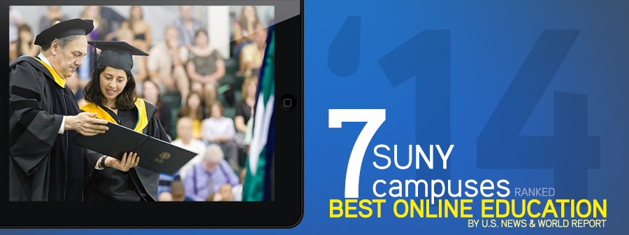7 SUNY Campuses Ranked Best Online Education By U.S. News & World Report