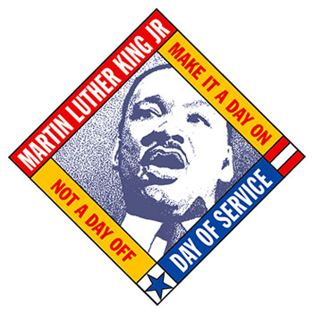 Martin Luther King Jr Day of Service - Make it a day on, not a day off