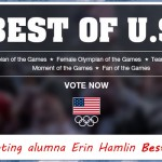 "Erin Hamlin '11 Contender for ""Best of U.S."" at 2014 Winter Olympic Games"