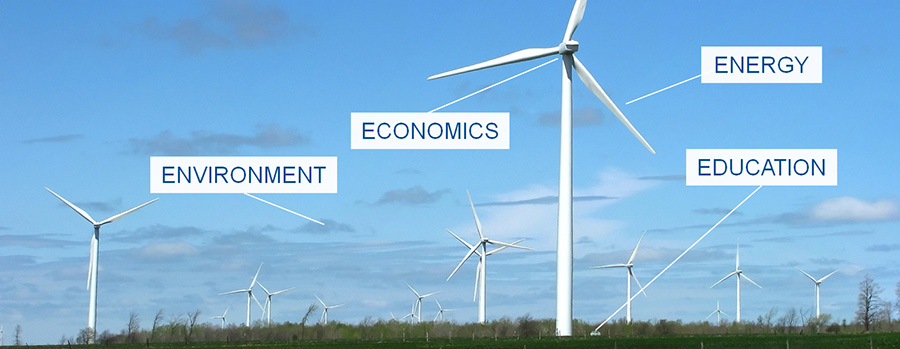 Environment, Economics, Energy and Education projectsawarded funding by SUNY Networks of Excellence
