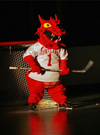 SUNY Cortland - Blaze Dragon