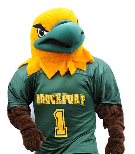 Ellsworth Eagle of the COllege at Brockport