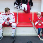 6-Year-Old's 'Wish' Granted by College Hockey Team