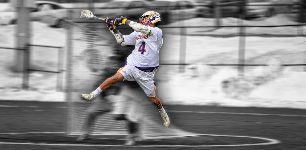 Lyle Thompson Scores on Harvard Behind Back