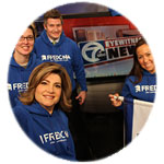 SUNY Freodnia alumni newscasters with WKBW-TV Channel 7 in Buffalo