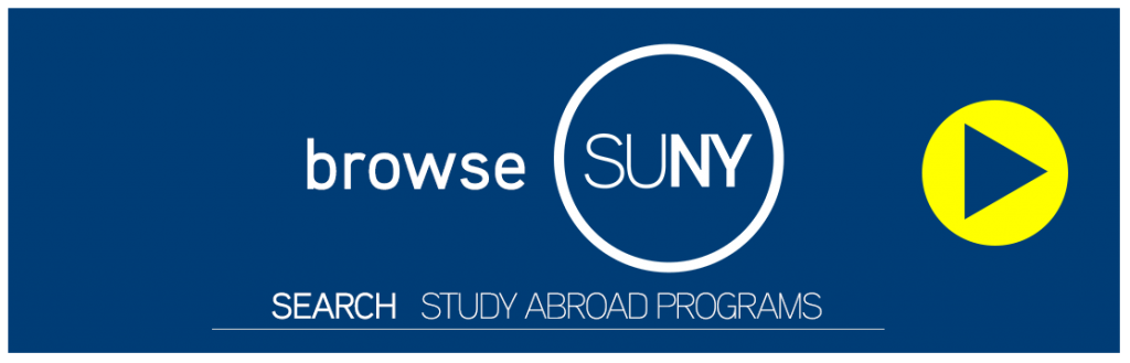 Study Abroad with SUNY - Program Search