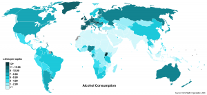 Alcohol consumption worldwide