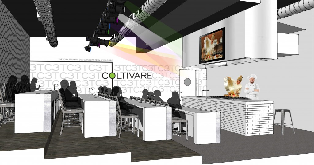 Cultivare Wine Lab Rendering